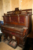 antique organ