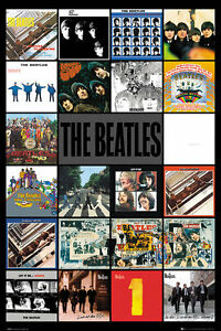 Beatles Poster - THE BEATLES Album Covers - New Music poster LP2083