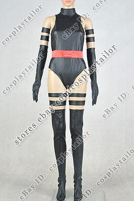 X-Men: Apocalypse Psylocke Betsy Braddock Cosplay Costume Uniform Halloween New