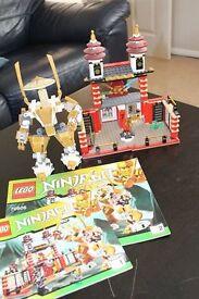 used lego ninjago 70505 temple of light