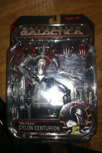 Battlestar Galactica Valley of Darkness Cylon SDCC Action figure Cambridge Kitchener Area image 1