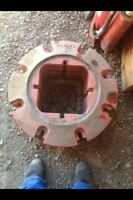 Case tractor wheel weights rear and front slab weights wanted