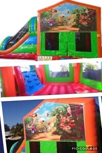Tinkerbell combo Jumping Castle $230 Full Day Hire Brisbane South East Preview