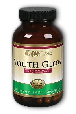 Youth Glow Anti Aging Formula w Acetyl L Carnitine & Alpha Lipoic Acid LifeTime Formulas Alpha Lipoic Acid