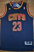 NEW w Tags LeBron JAMES Cavs Embroidered Jersey