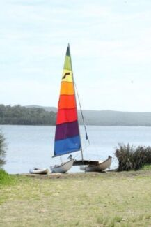 4.3 maricat on trailer Mona Vale Pittwater Area Preview