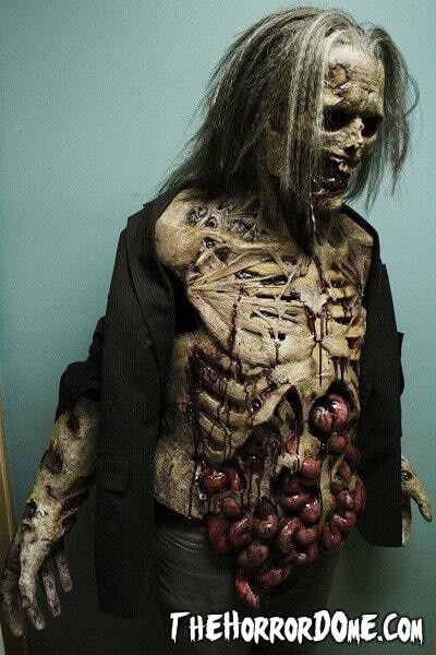 Movie Quality Zombie Lurker Halloween Costume