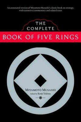 Complete Book of Five Rings, Paperback by Musashi, Miyamoto; Tokitsu, Kenji (...