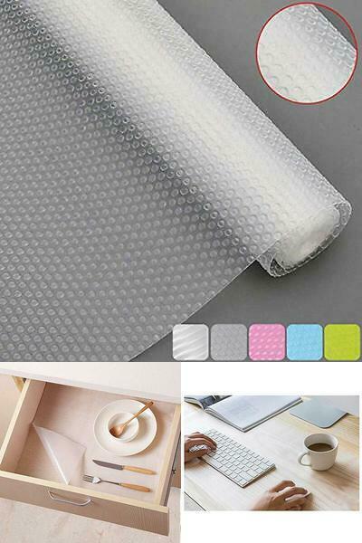Plastic Shelf Cabinet Drawer Liner Non-Slip Shelf Liner Non-