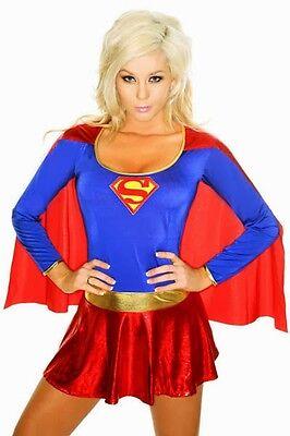 Sexy Damen Frauen Super Hero Verkleiden Outfit XXXL nagelneu Bekleidun (Super Hero Kostüm Frauen)
