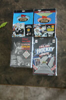 GREAT CHRISTMAS GIFTS!Un-opened boxes of cards Hockey, Baseball