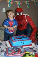 SPIDERMAN-SUPER HERO Birthday Party OR Daycare ▶️ (204) 663-1000