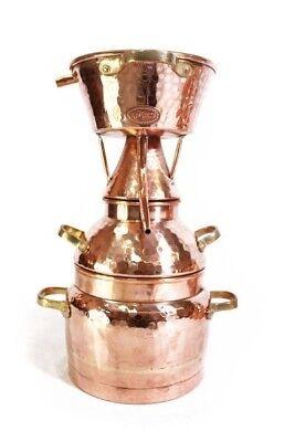 Destilado Alquitara 3L ❀ para Aceites Esenciales ❀ Legal en Suiza &...