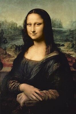 Mona Lisa Leonardo da Vinci Poster most parodied popular art best known