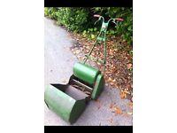 Webb Electric Lawnmower with Grass Box