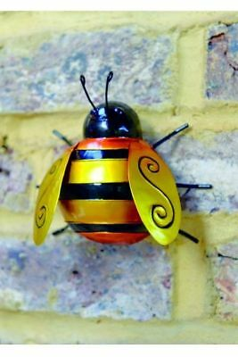 Five Oaks WallArt - Bumble Bee, Hummel mittel   Figur Metall Garten Haus