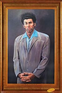 Seinfeld Poster New THE KRAMER Art 24x36 Michael Richards Cosmo Painting Print
