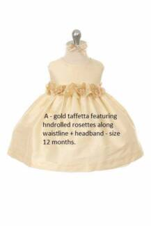 BRAND NEW WITH TAGS Babies+ Girls  PARTY dresses - only $15