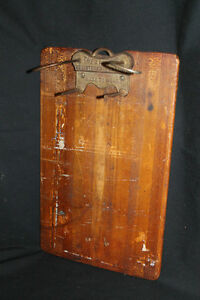 antique clip board