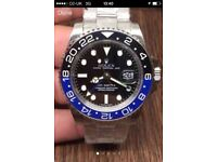 Rolex GMT Master II Batman watch