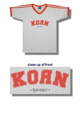 Officially Licensed KORN SOCCER JERSEY (UNTOUCHABLES) SIZE ADULT XL