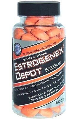 Hi-Tech ESTROGENEX Depot Estrogen Blocker & Testosterone Booster - 90 tablets segunda mano  Embacar hacia Mexico
