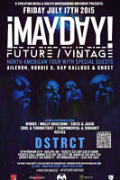 !Mayday! of Strange Music performing in Guelph, Ontario