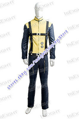 X-Men: First Class Charles Xavier Professor X Cosplay Costume Halloween Uniform](Professor Xavier Halloween Costume)