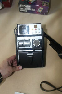 Rare Star Trek TOS Tricorder - EM scanner and Radio
