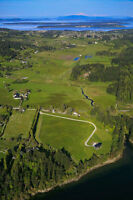 13.4 acres STUNNING WATERFRONT PROPERTY near VICTORIA BC
