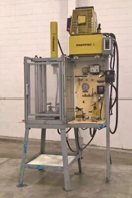 30 Ton Enerpac 6-post Hydraulic Press - Lmc 47521