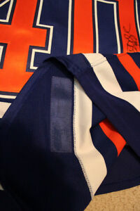 Game-Worn Autographed Oilers Devan Dubnyk Rookie Year Jersey Strathcona County Edmonton Area image 4