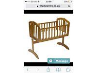 Swing baby crib