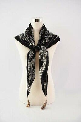 Scarf Pattern - New Style Square Paisley Pattern Scarf for Spring/Summer/Fall