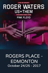 Roger Waters from Pink Floyd 8 Tickets great seats.