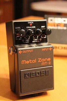 Boss MT-2 Distortion Guitar Effect Pedal on Rummage