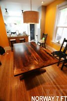 Trestle Tables [Heavy Duty Reclaimed Wood]