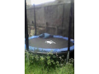 8ft Trampoline and Enclosure w/ instructions
