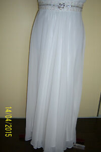 GREAT OPPORTUNITY! Wedding chiffon dress -size L West Island Greater Montréal image 6