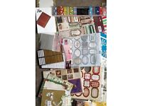 Huge lot of Christams, cards, embellishments , papers etc