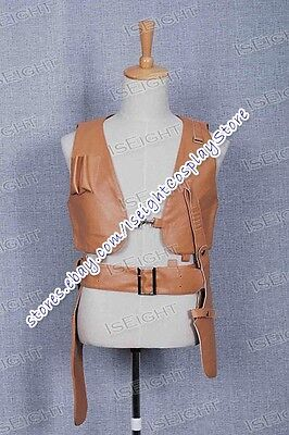 Leon: The Professional Leon Leather Vest Cosplay Costume Halloween High Quality - The Professional Halloween Costumes