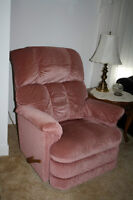2  LazyBoy  recliner-rockers for $300 or $150 each  [same color]
