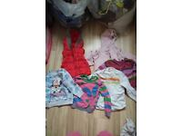 Large bundle of girls clothes 18-24months