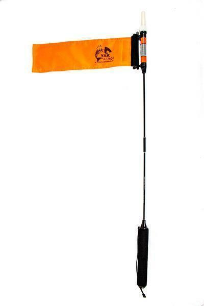 Yakattack VisiCarbon Pro Kayak Flag and Kayak Light - CPM
