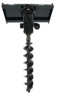 Jenkins HEAVY DUTY Earth Auger Skidsteer Attachment