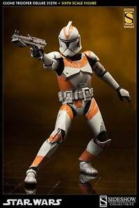 NEW Sideshow Collectibles Star Wars Clone Trooper Deluxe 212th Stirling Stirling Area Preview