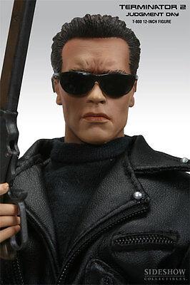 Sideshow Arnold Schwarzenegger Terminator 2 T 800 Sixth Scale Figure Statue Bust
