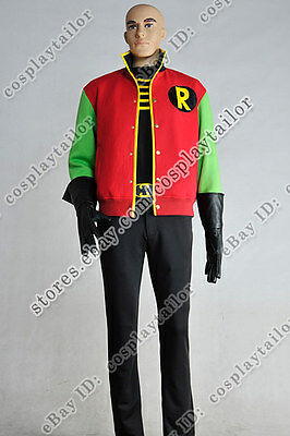 Batman Thrillkiller Robin Cosplay Costume Full Set Outfit Halloween Party Cool - Cool Batman Costumes