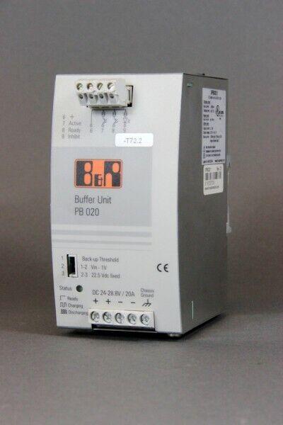 B&R Puffermodul 24-28.8VDC 20A 0PB020.1 Rev. C1