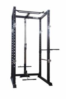 Brand New Standard Cage PK1 with Lat attachment and Seated Row
